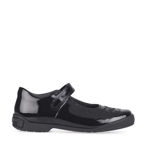 Startrite Hopscotch, Black Patent School Shoe