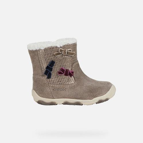 Geox Balu Ankle Boot, Smoke Grey