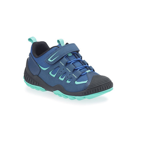 Startrite Charge Trainers, Blue, 10-3