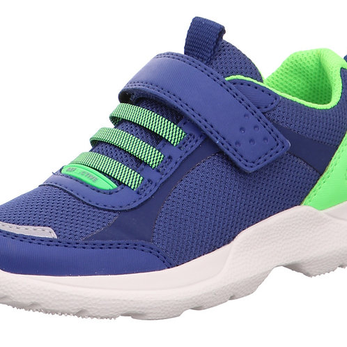 Superfit Rush Trainers, Blue/Green