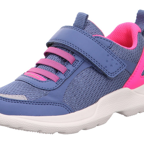 Superfit Rush Trainers, Blue/Pink