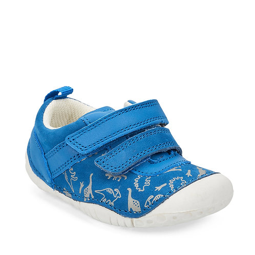 Startrite Roar Prewalkers, Bright Blue Nubuck