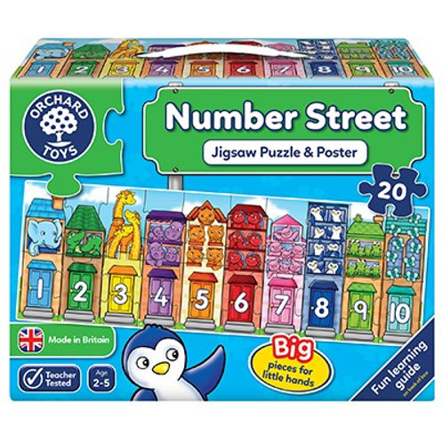 Orchard Toys Number Street Puzzle