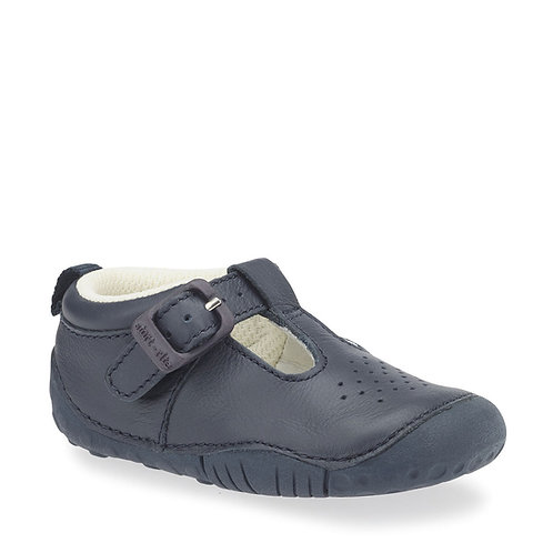 Startrite Baby Jack Pre-walker, Navy Leather