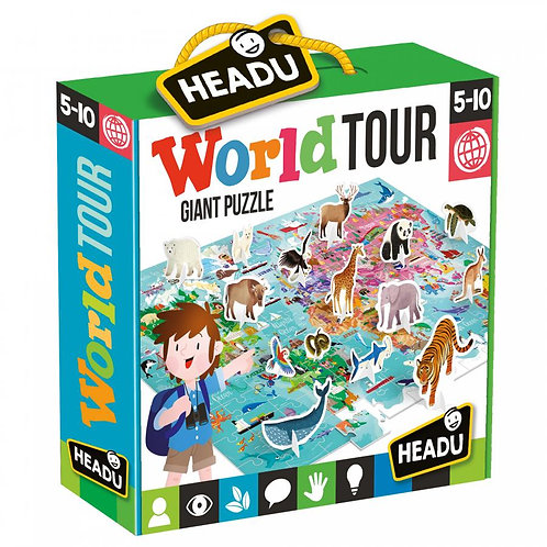 Headu World Tour Giant Puzzle