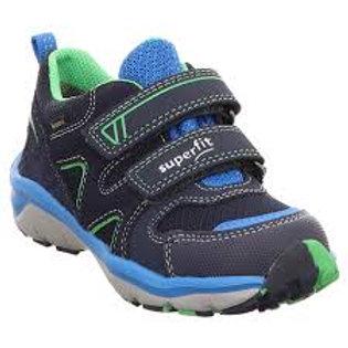 Superfit Sport5 Goretex Trainer, Blue/Green (09240-80)