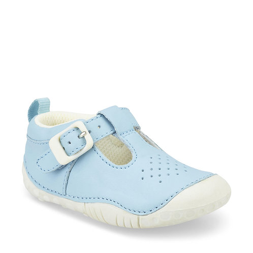 Startrite Baby Jack Pre-walkers, Pale Blue Leather