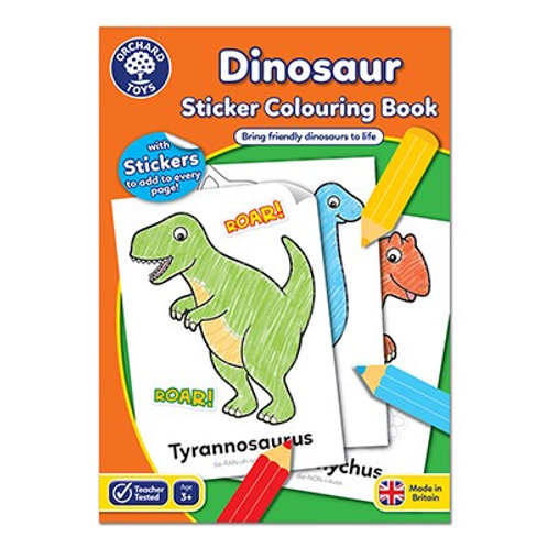 Orchard Toys Colouring Book - Dinosaur