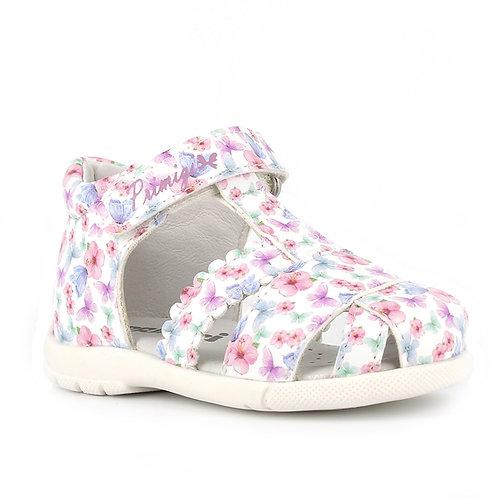 Primigi Baby Farfa Sandal, White Floral