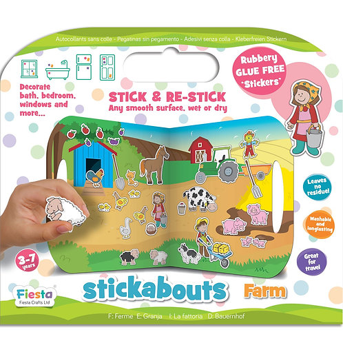 Fiesta Crafts Stickabouts