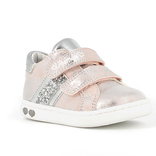 Primigi 740411 Baby Like Trainers, Pink & Silver