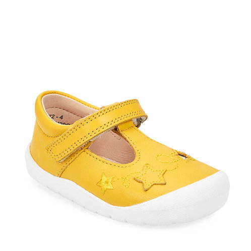 Startrite Sparkle, Yellow Leather
