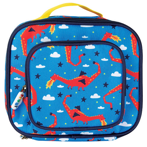 Frugi Pack A Snack Lunch Bag, Dragon Dreams