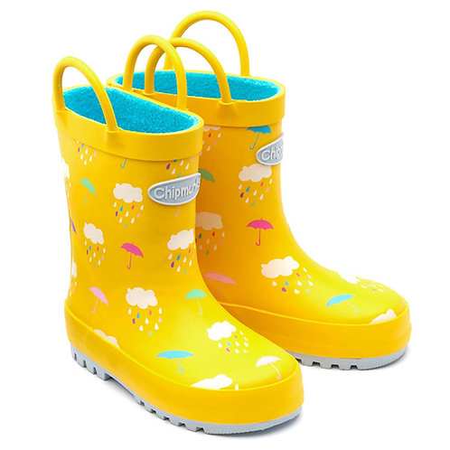 Chipmunk Rain Yellow Wellies