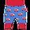 Thumbnail: Toby Tiger Fire Engine Print Yoga Pants