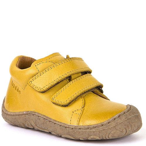 Froddo G2130192, 2-Strap Leather Shoe, Yellow