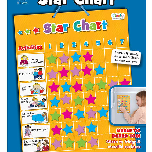 Fiesta Crafts Star Chart