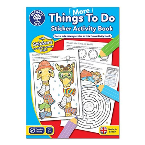 Orchard Toys Colouring Book - More Things To Do