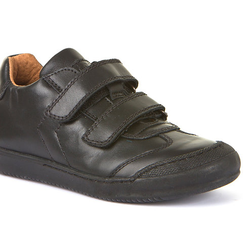 Froddo G3130133 Black Leather School Shoe