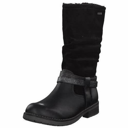 Lurchi Lia Tex Black Leather