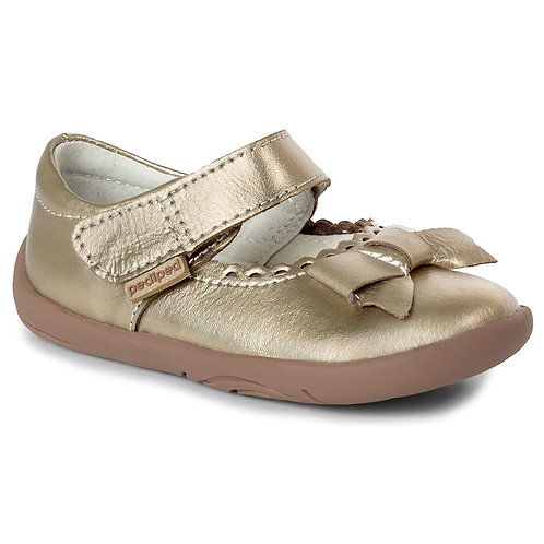 Pediped Betty Champagne Party Shoe