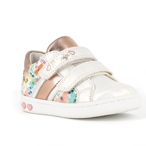 Primigi 740422 Baby Like Trainers, Rose Gold & Floral