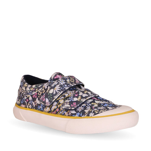 Startrite Meadow Floral Canvas, Navy
