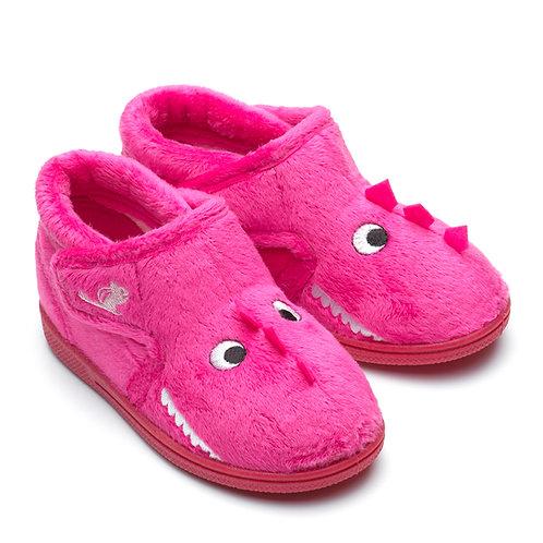 Chipmunk Daniella Dinosaur Slippers
