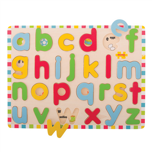 Bigjigs Inset Puzzle - Lower Case Letters