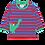 Thumbnail: Toby Tiger Organic Dino Applique Long Sleeved Tshirt