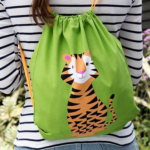 Rex London Tiger Drawstring Bag