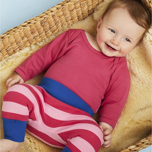 Toby Tiger Pink/Pink Stripe Yoga Pants