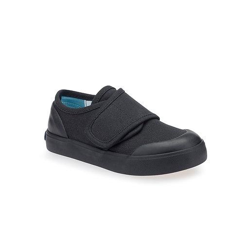 Startrite Black Canvas Gym Shoe