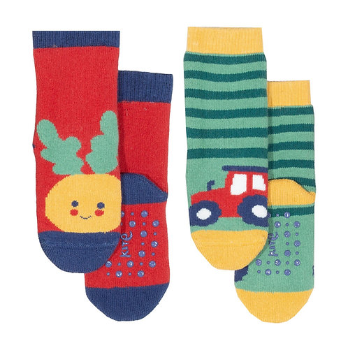 Kite Farm Grippy Sock