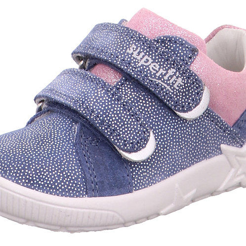 Superfit Starlight Trainers, Blue/Pink