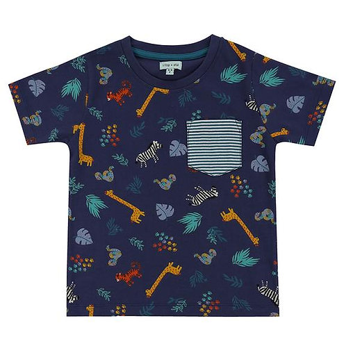 Lilly & Sid Safari AOP Tshirt