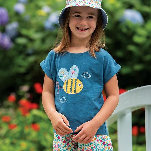 Frugi Sophia Slub T-shirt