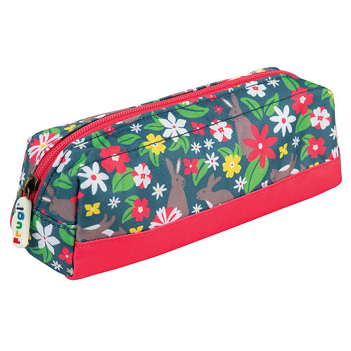 Frugi Crafty Pencil Case, Rabbit Fields