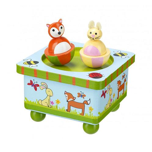Orange Tree Toys Music Box, Woodland