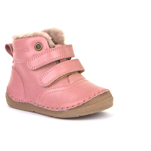 Froddo G211087-9 Fur Lined Ankle Boots,Pink