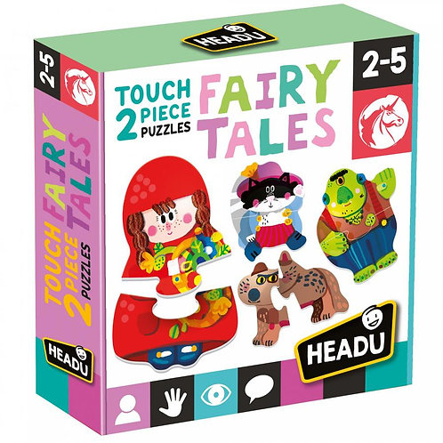 Headu 2 Piece Touch Puzzle, Fairy Tales