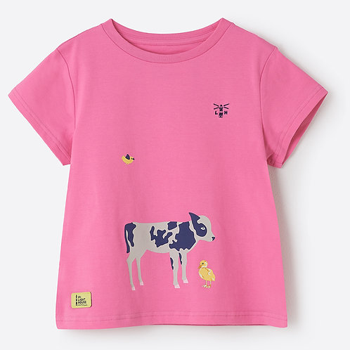 Lighthouse Causeway T Shirt, Calf & Chick
