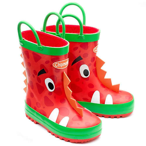 Chipmunk Ziggy Monster Red Wellie