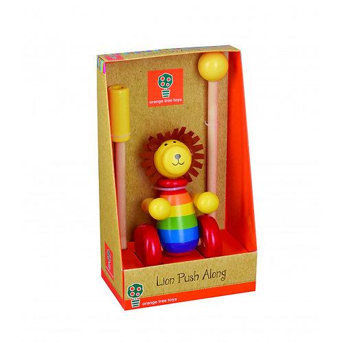 Orange Tree Toys Push Along, Lion