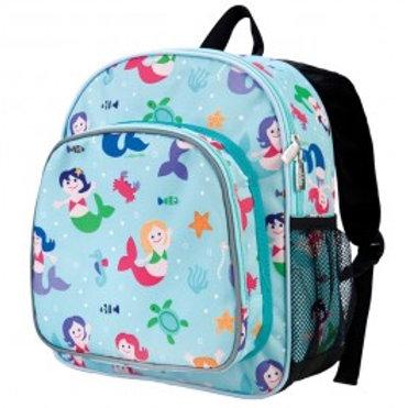 Wildkin Toddler Backpack, Mermaid