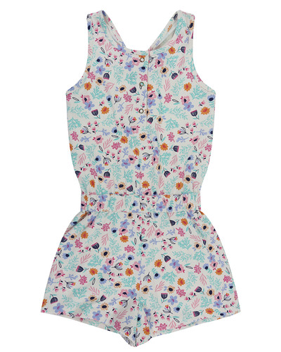 80eef9dfb13efa Lilly & Sid Jersey Playsuit, Ditsy