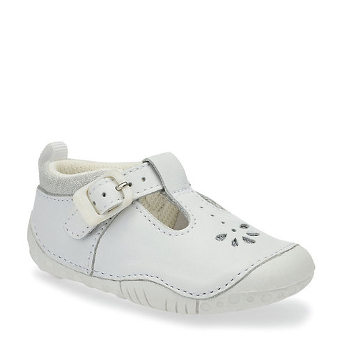 Startrite Baby Bubble Pre-walker, White Leather