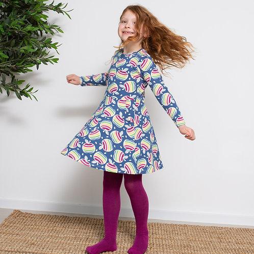 Kite Rainbow Apple Skater Dress