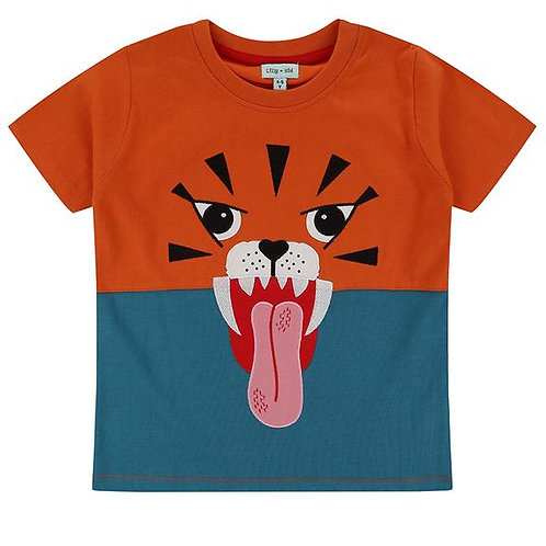 Lilly & Sid Tiger Character Tshirt