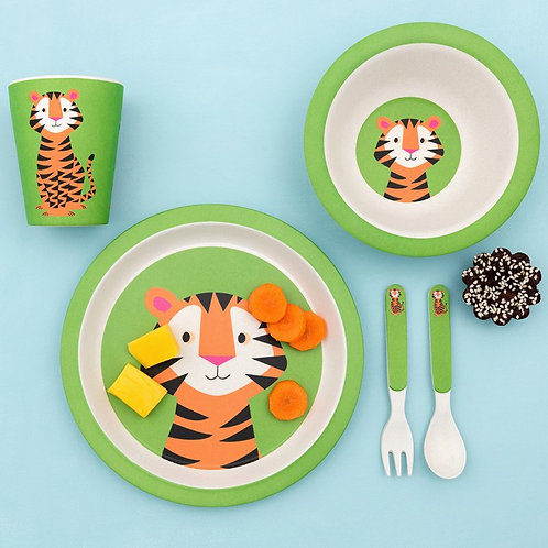 Rex London Teddy The Tiger Bamboo Tableware